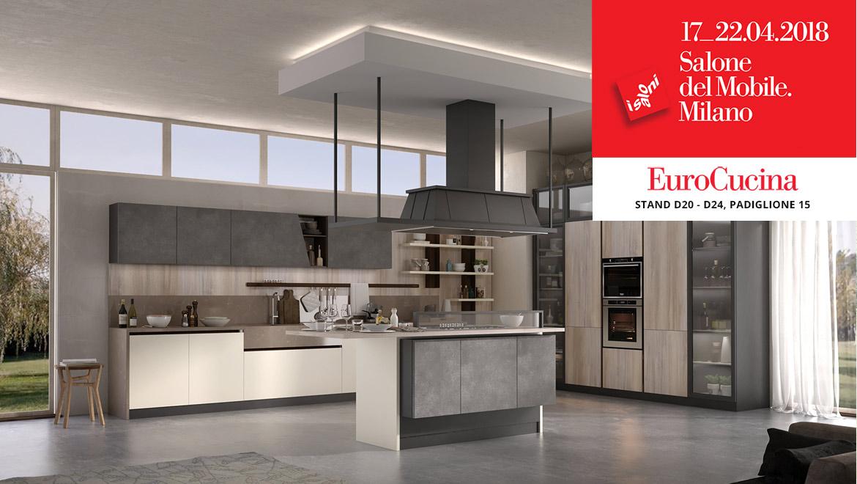 Cucine componibili arredamento soggiorno e camera spar for Cucine salone del mobile